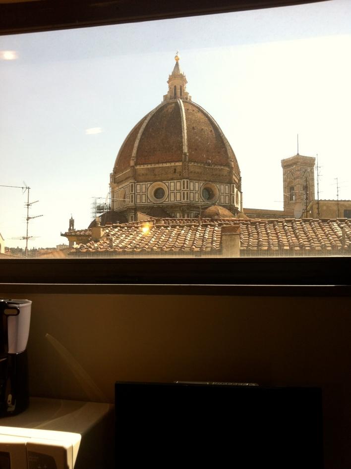 The Duomo atop The Cathedral of Santa Maria del Fiore