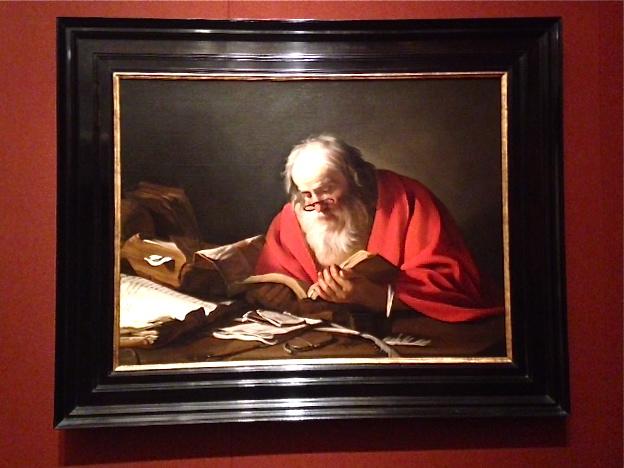 Hendrick Bloemaert 1630...Saint Jerome