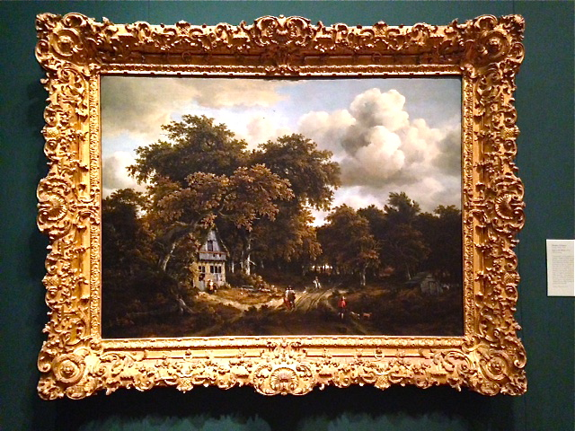 Meindert Hobbema 1670...Road in the Woods
