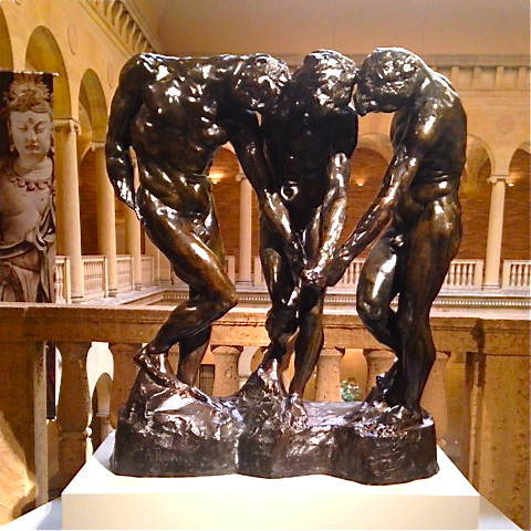 Auguste Rodin 1880....The Three Shades